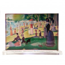 Georges Seurat -- A Sunday Afternoon