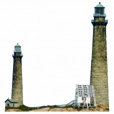 Cape Ann Twin Lighthouse